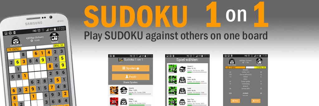Sudoku 1on1 – Play Sudoku against other players